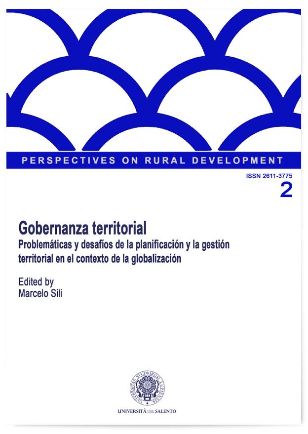 Book Cover: Gobernanza Territorial