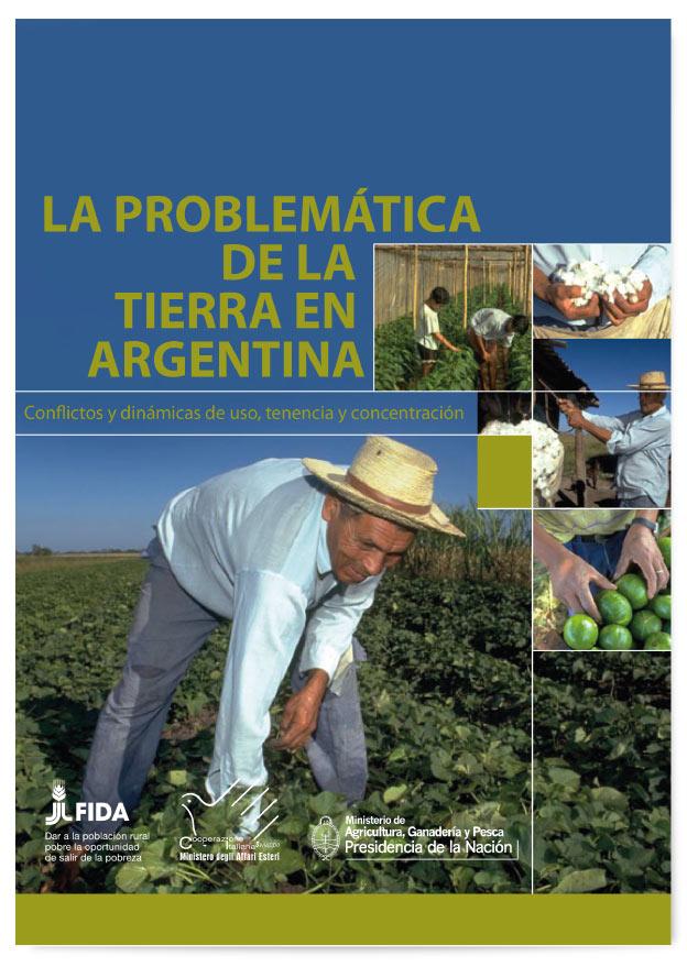 Book Cover: La problemática de la tierra en Argentina